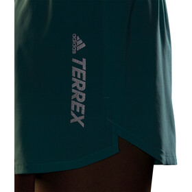 adidas TERREX Parley Agravic All Around Shorts Women, acid mint/black